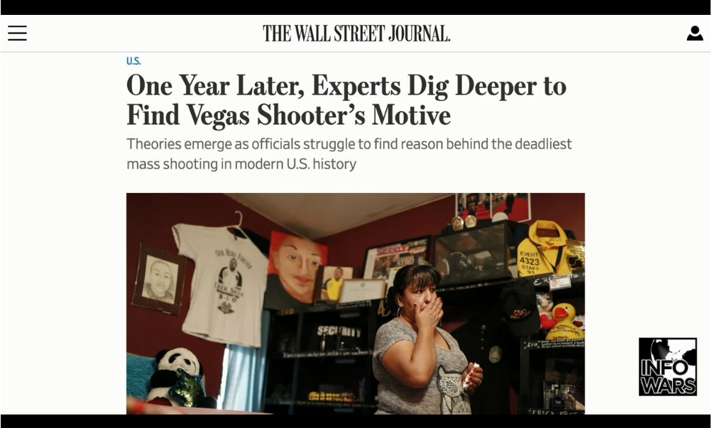 Darkness and Lies: 1 Year after Las Vegas Shooting
