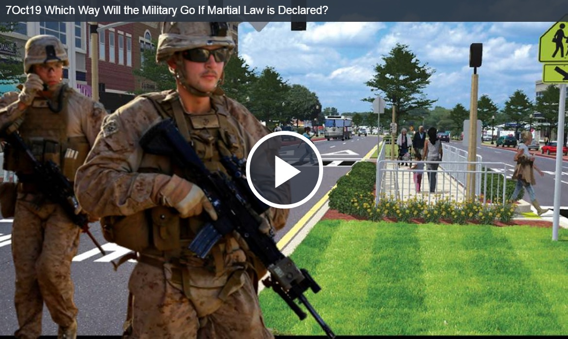 Which Way Will the Military Go If Martial Law is Declared?
